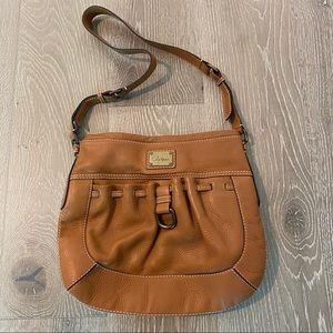 Cole Haan Leather Messenger Bag